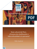 Presentacion Pablo Sandoval Curso II Interculturalidad
