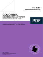 Colombia Report From 2013 - 2022