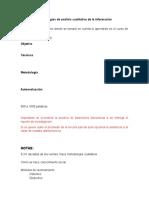 Metodologías de Análisis Cualitativo de La Información