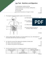 CSEC Biology - Digestion Test