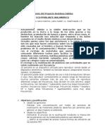 Informe Del Proyecto Residuos Solidos