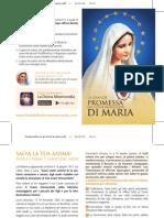 La Grande Promessa Del Cuore Immacolato Di Maria