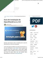 Guia de Instalação Do OpenMandriva Lx 3.0 - Blog Opção Linux