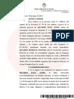 El juez Ercolini elevó a juicio oral la causa contra Ricardo Jaime por la compra de trenes a España y Portugal