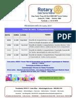 Programa Junho 2017