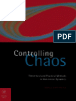 Tomasz Kapitaniak Controlling Chaos _ Theoretical and Practical Methods in Non- Linear Dynamics