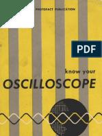 Know Your Oscilloscope