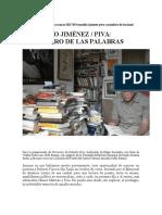 Reynaldo Jiménez Sobre Roberto Piva