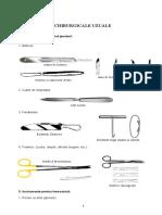 Instrumentarul Chirurgical Microcurs an 4
