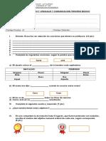 Prueba Lenguaje Unidad 6_3° basico