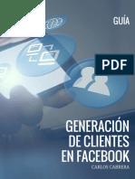 Guia Generacion Clientes en Fecebook