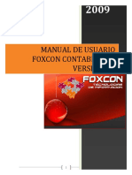 Manual Foxcon Contabilidad