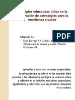 Principios Educativos en La Cons Estrategias