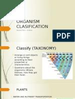 Organism Clasification