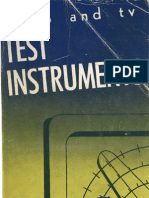 Test Equipment, Radio & TV, Gernsback