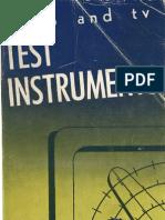 Test Equipment, Radio & TV, Gernsback