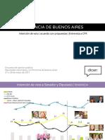 Cristina arrasa en las encuestas en Provincia tras la reaparición en TV