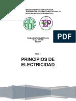 Tema 1- Fundamentos de Electricidad