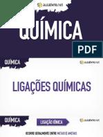 Quimica - Aula 05 - Apresentacao-ligacoes-quimicas
