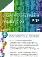 Stc Undergraduate Student Presentation
