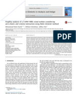 Finite Elements in Analysis and Design Volume 120 Issue 2016 [Doi 10.1016%2Fj.finel.2016.06.006] Asareh, Mohammad-Amin; Schonberg, William; Volz, Jeffery -- Fragility Analysis of a 5-MW NREL Wind Turb