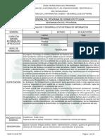 Análisis y Desarrollo de Sistemas de Información