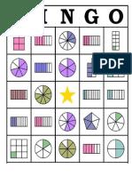 Bingo Fracciones