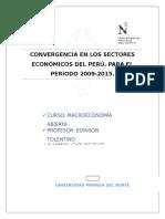 Macro Convergencia Sectores
