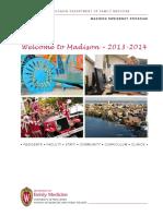 Welcome Madison 2013 2014
