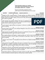 Trf1 15 Juiz Justificativas de Altera Es de Gabarito