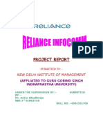 RelianceInfocomm-Project New Edited Ankit