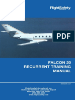Falcon 20_Recurrent Manual