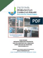 PROPOSAL BANTUAN Pelabuhan Tambatan Perahu Larete