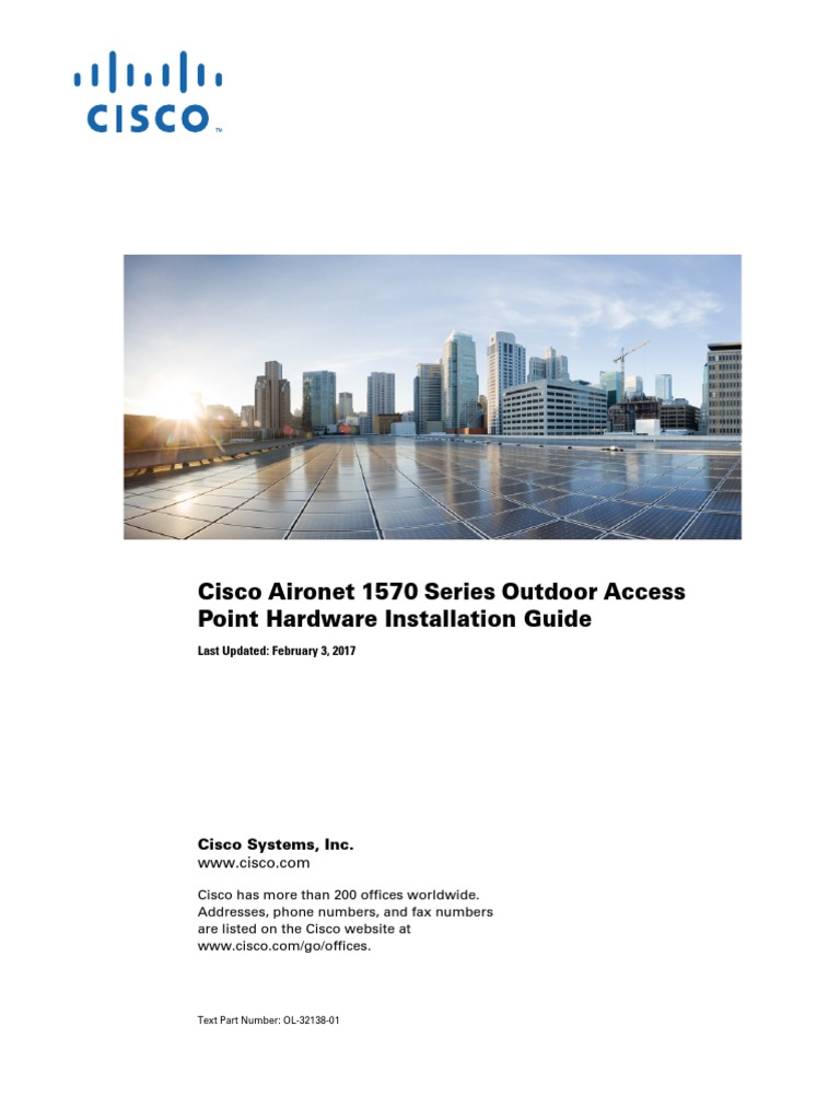 Cisco 1570   Wireless Access Point   Electromagnetic Interference