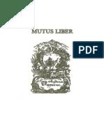 Mutus Liber (OCR)