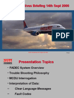 International Aircraft V2500 Engine Troubleshoot Brief