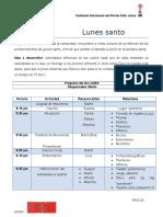 Estructura Pascua Juvenil COMPLETO