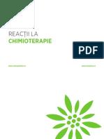 reactiile chimioterapiei