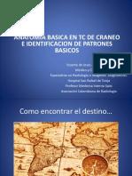 Anatomia Basica en Tomografia de Craneo e Identificacion de Patrones Basicos en Patologias Mas Frecuentes