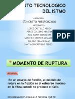 MOMENTO DE RUPTURA