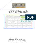 User Manual OT BioLab v3.0