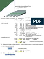 Hoja Excel para el Diseño de Losa con Placa Colaborante - CGeeksAD600