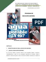Programa de Educacion Sanitaria1
