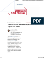 Amazon Entices Indian Enterprises With AWS Region in Mumbai