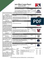 5.31.17 Minor League Report