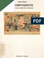 Remo Bodei_Scomposizioni. Forme Dell'Individuo Moderno_Einaudi (1987)