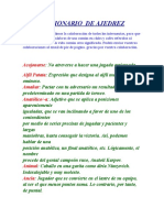 DICCIONARIO AJEDREZ