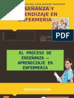 Enseñanza y Aprendizaje en Enfermeria 1