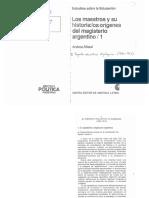 Alliaud. El proyecto educativo oligarquico.pdf