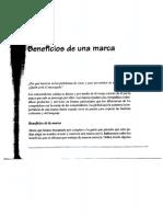 Beneficios de Una Marca. Mariotti